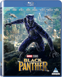 Black Panther (Blu-ray) - Cover