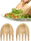 Sagaform - Oak Hands Salad Servers
