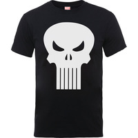 Knights Punisher Skull Icon Boys Black T-Shirt (9 -11 Years) - Cover