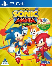 Sonic Mania Plus (PS4) - Cover