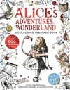 Alice In Wonderland: a Colouring Transfer Book - Lewis Carroll (Paperback)