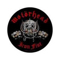 Motorhead - Iron Fist (Back Patch) - Cover