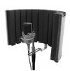 On-Stage ASMS4730 Microphone Studio Isolation Shield (Black)