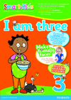 Smart-Kids I Am Three With Sticker Pages - C. Bloch (Paperback)