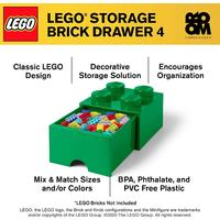 Room Copenhagen - LEGO Brick Drawer - Dark Green