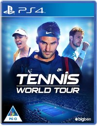 Tennis World Tour (PS4) - Cover