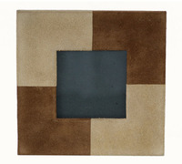 Adesso - Suede Leather Picture Frame - Cover