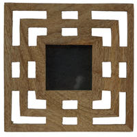 Adesso - Arts And Craft Wooden Photo Frame
