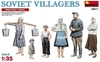 MiniArt - 1/35 - Soviet Villagers (Plastic Model Kit)