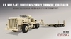 Meng Model - 1/35 - M911 C-HET and M747 Heavy Equipment Semi-Trailer (Plastic Model Kit)