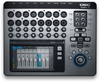 QSC TOUCHMIX-16 TouchMix Series 22-Channel Digital Mixer with Bag (Silver and Black)