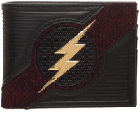 The Flash - Chrome Logo Bifold Wallet - Cover