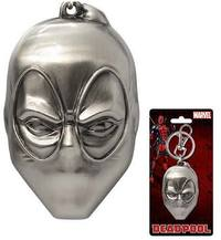 Deadpool - Mask Pewter Keychain - Cover