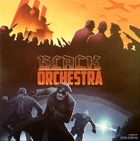 Black Orchestra: 2nd Edition (Board Game) - Cover