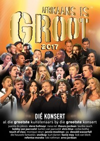 Various Artists - Afrikaans Is Groot 2017 (DVD) - Cover