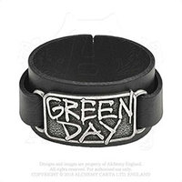 Green Day - Logo (Leather Wristband) - Cover