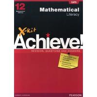 X-Kit Achieve! Mathematical Literacy Grade 12 Study Guide - R. Kabadde (Paperback)