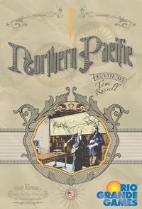 Northern Pacific (Board Game) - Cover
