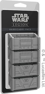 Star Wars: Legion - Barricades Pack (Miniatures) - Cover