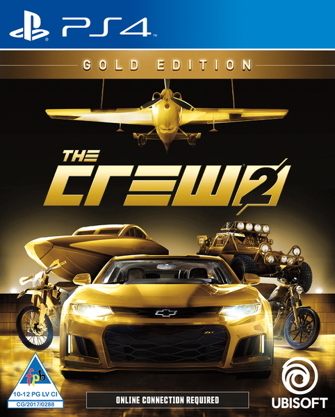 The Crew 2 Gold Edition Ps4 Video Games Online Raru