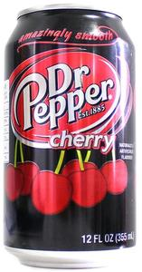 Dr Pepper - Cherry (350ml) - Cover
