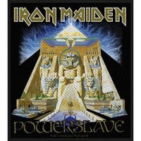 Iron Maiden - Powerslave Patch - Cover