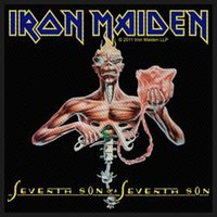 Iron Maiden - Seventh Son Patch - Cover