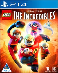 LEGO The Incredibles (PS4) - Cover
