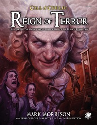 Call of Cthulhu - Reign of Terror (Role Playing Game) - Cover