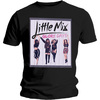 Little Mix Glory Days Boyfriend Ladies Black T-Shirt (Small)
