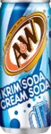 A&W - Cream Soda (355ml)