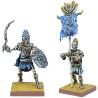 Kings of War - Empire of Dust: Revenant Champion/Army Standard Bearer (Miniatures)