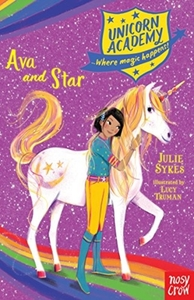 Unicorn Academy: Ava and Star - Julie Sykes (Paperback) - Cover