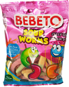 Bebeto - Sour Worms (80g)