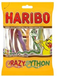 Haribo - Crazy Python Jelly Sweets (175g) - Cover