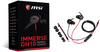 MSI Immerse GH10 Gaming In-Ear Gaming Headset - Black