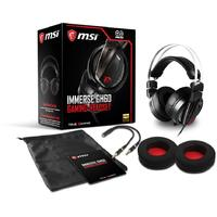 MSI Immerse GH60 Over-Ear Gaming Headset - Black