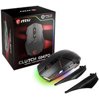 MSI CLUTCH GM70 Fully Customizable Wireless Gaming Mouse