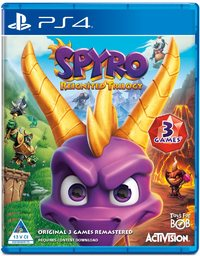 Spyro Reignited - Remastered Trilogy (PS4) - Cover