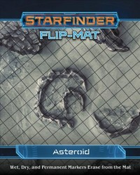 Starfinder Flip-mat - Asteroid (Role Playing Game) - Cover
