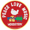 Woodstock - Peace Love Music (Patch)