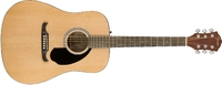 Fender FA-125 Fender Alternative Series Dreadnought Acoustic Guitar (Natural) - Cover