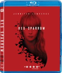 Red Sparrow (Blu-ray) - Cover
