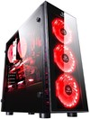 Redragon Sideswipe 4xRGB LED Tempered Glass Side and Front ATX Gaming Chassis - Black