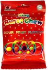 King - Burst Chews - Sour Fruit Candy (40g)