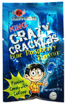King - Crazy Crackles - Blue Raspberry Popping Candy (15g)