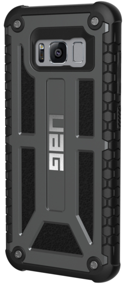 hot sale online c8253 06d56 UAG Monarch Series Case for Samsung Galaxy S8 - Black
