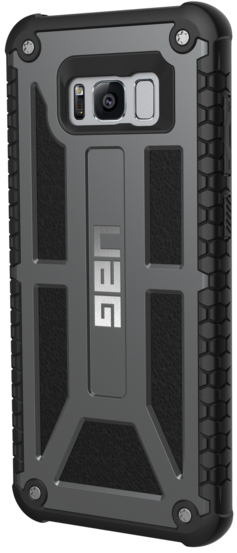 the best attitude ce58b ad469 UAG Monarch Series Case for Samsung Galaxy S8+ - Black and Grey