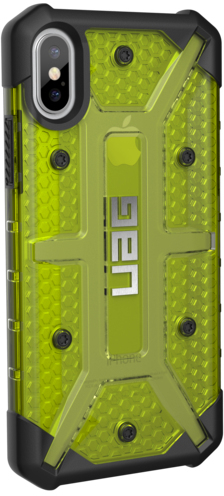 best service a9012 12166 UAG Plasma Series Case for Apple iPhone X - Citron Yellow