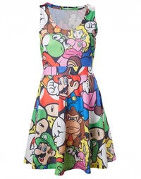 Nintendo - Mario & Friends - Multicolour Dress (Small) - Cover